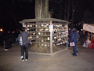 鷲宮神社の2010年1月1日の絵馬2