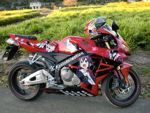 痛いバイク発見