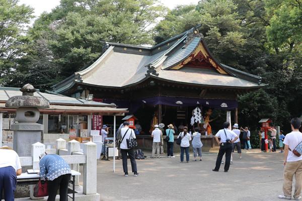 鷲宮神社 夏越祭02