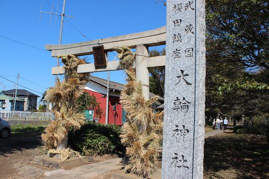 大輪神社の秋季祭「ワラの大蛇」14