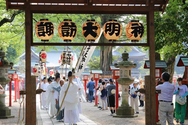 鷲宮神社 夏越祭05