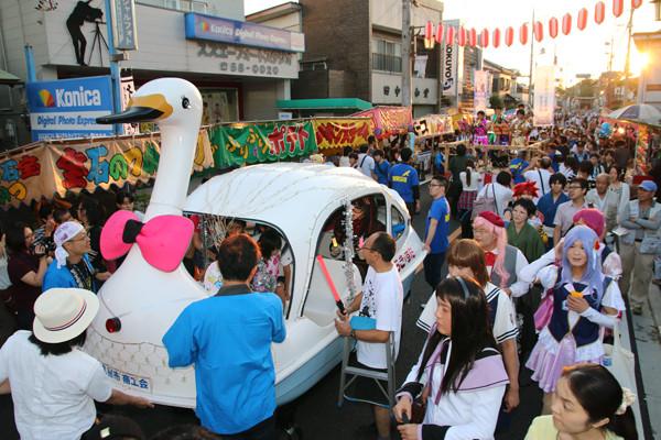土師祭2014 オタクニカルパレードの様子