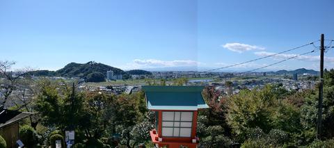 織姫神社の絶景
