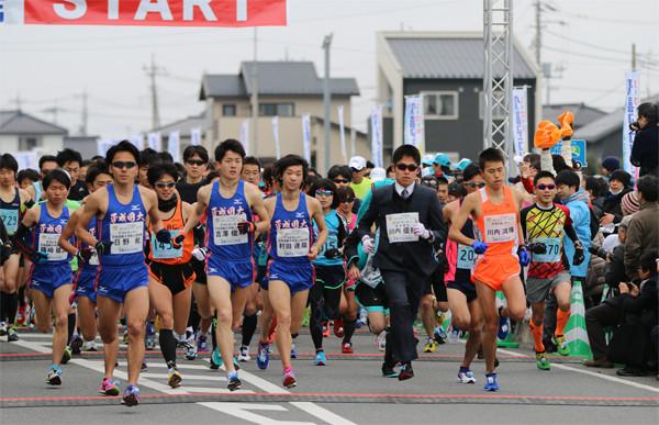 久喜マラソンスタート