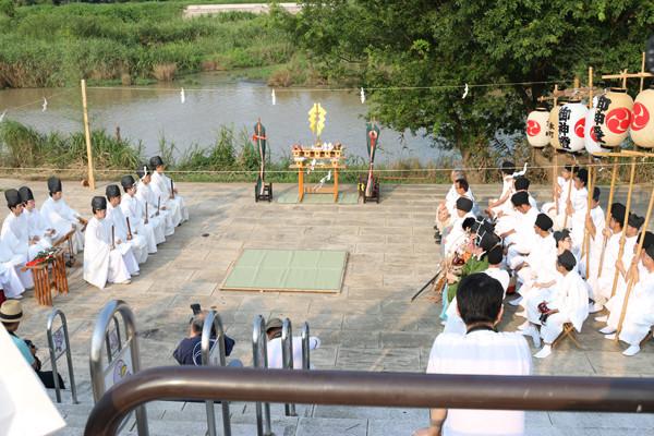 鷲宮神社 夏越祭10