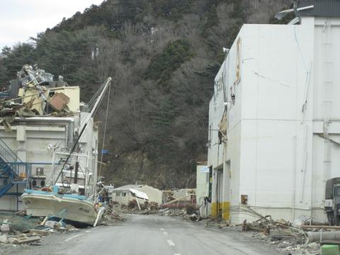 宮城県女川震災被害画像(11年4月3日)09