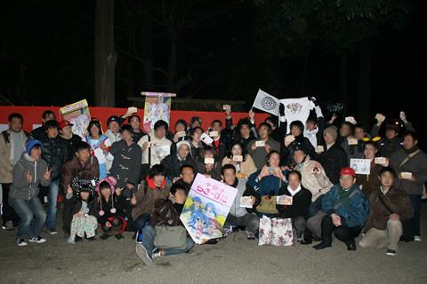 2011年元旦絵馬描けイベント記念写真