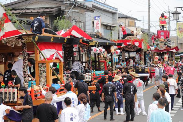 鷲宮 八坂祭2018 2