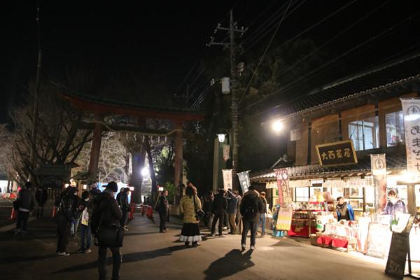 鷲宮神社初売り2017