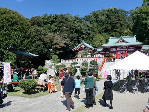 織姫神社の本殿に到着