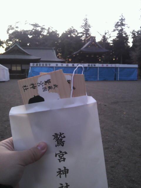 鷲宮神社と絵馬