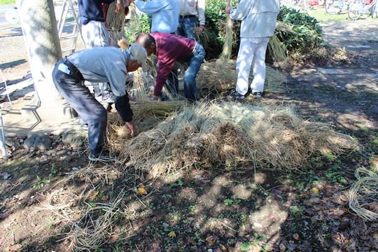 大輪神社の秋季祭「ワラの大蛇」3
