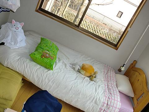 最高額のゆーちゃんのベッド