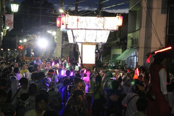 土師祭2014 らき☆すた神輿の渡御