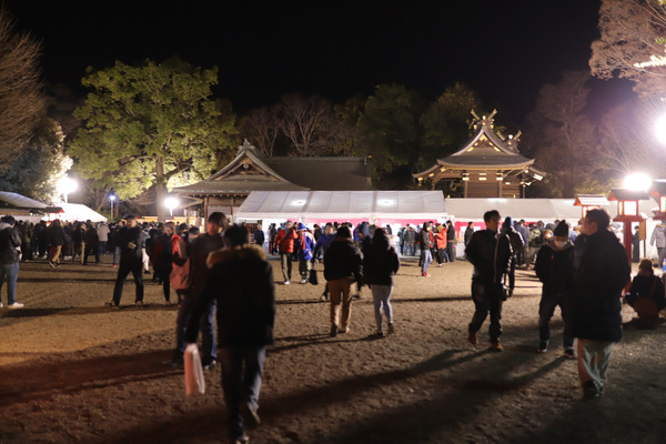 鷲宮神社2019年初売り8