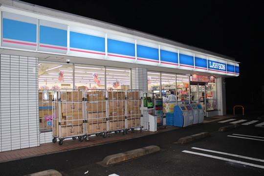 開店直後の「らき☆すた」ローソン