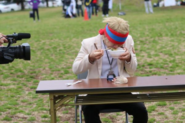 萌フェス「萌輪ぴっく」障害物競走4 久喜マラソン