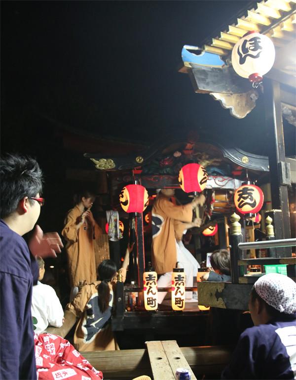 鷲宮八坂祭2015-一番太鼓07