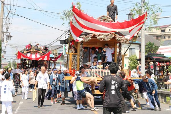 鷲宮八坂祭天王様2015-11