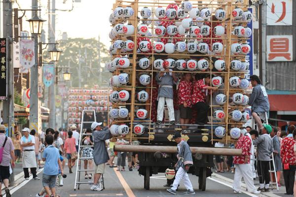 鷲宮の八坂祭り「天王様」2014_08
