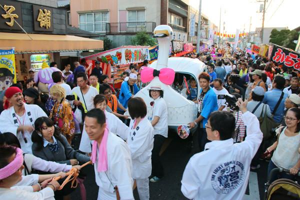 土師祭2014 オタクニカルパレードの様子3