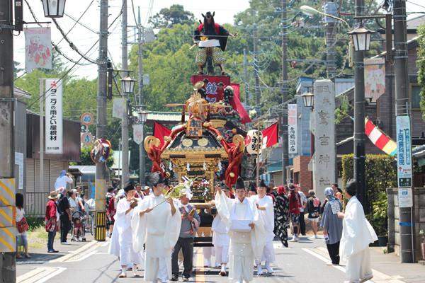 鷲宮八坂祭天王様2015-5