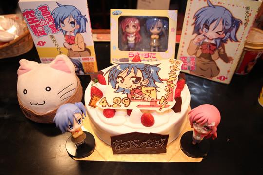 宮河家の空腹 アニメ放送開始記念ケーキお披露目