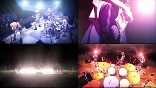 Angel Beats!1話 「ガルガモ」ライブ