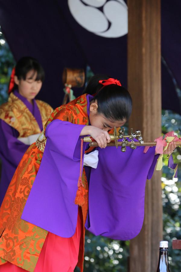 鷲宮神社 年越祭 神楽7