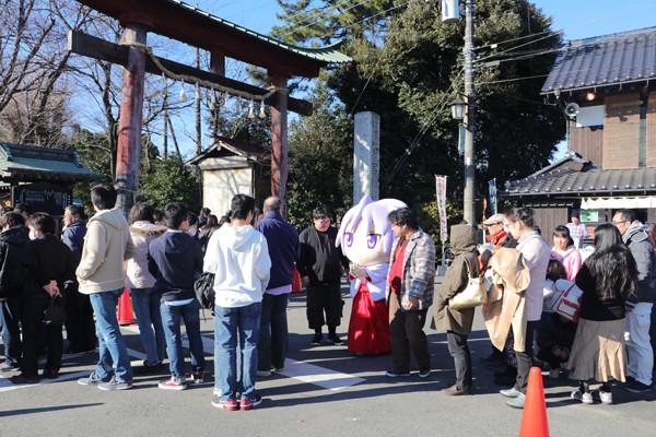 鷲宮神社初売り2017-14