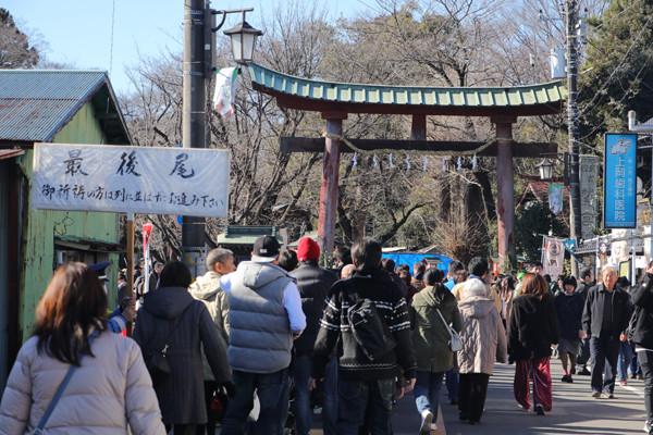 鷲宮神社初売り2017-8
