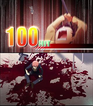 Angel Beats!1話 死ぬほど痛い100HIT