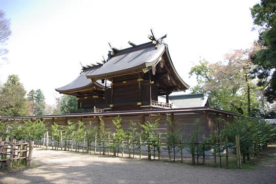 鷲宮神社御社殿