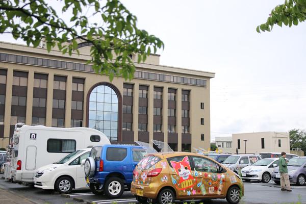 土師祭2014 鷲宮総合支所の痛車