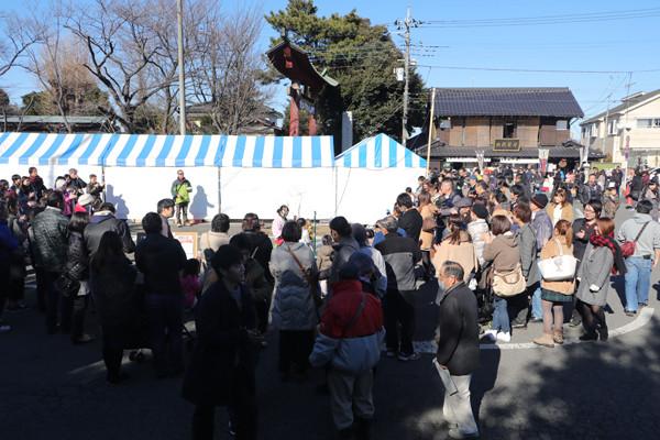 鷲宮神社初売り2017-11