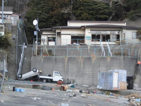 宮城県女川震災被害画像(11年4月3日)24