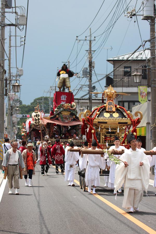 鷲宮の八坂祭り「天王様」2014_07