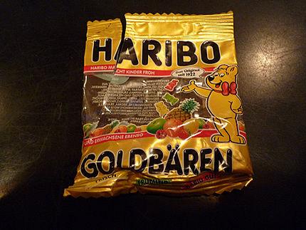 ドイツのHARIBO
