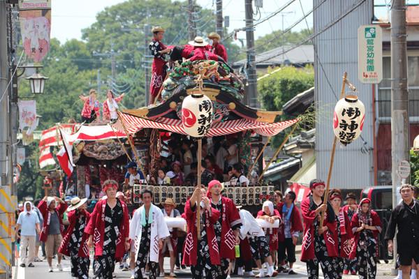 鷲宮の八坂祭り「天王様」2014_05