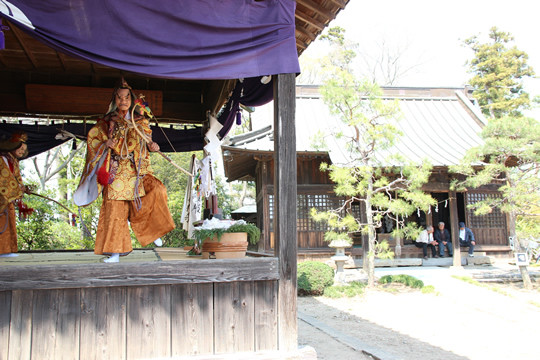 八甫鷲宮神社と神楽