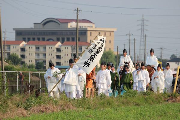 鷲宮神社 夏越祭08