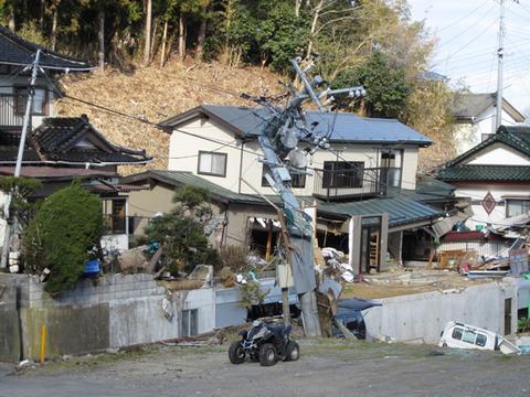 宮城県女川震災被害画像(11年4月3日)19