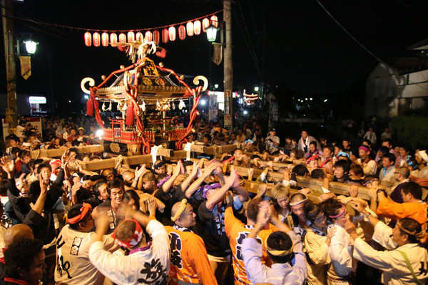 土師祭2014 千貫神輿の渡御2