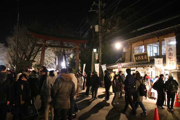 鷲宮神社初売り2017-1