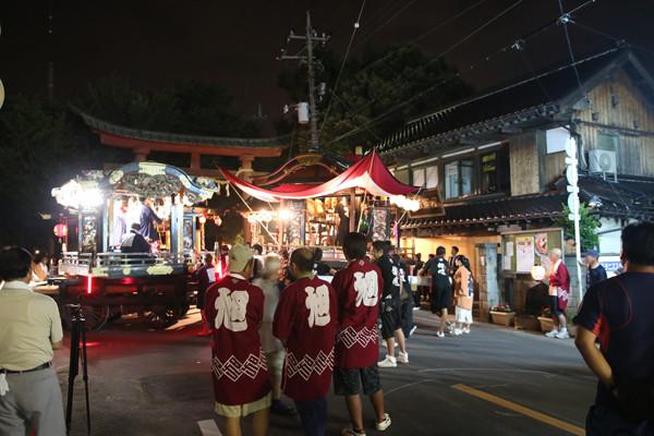 鷲宮八坂祭2015-一番太鼓03