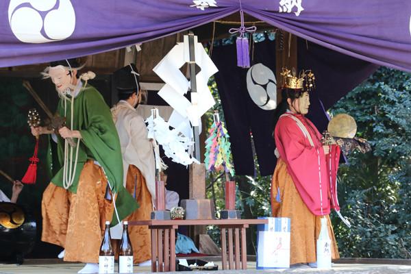 鷲宮神社 年越祭 神楽8