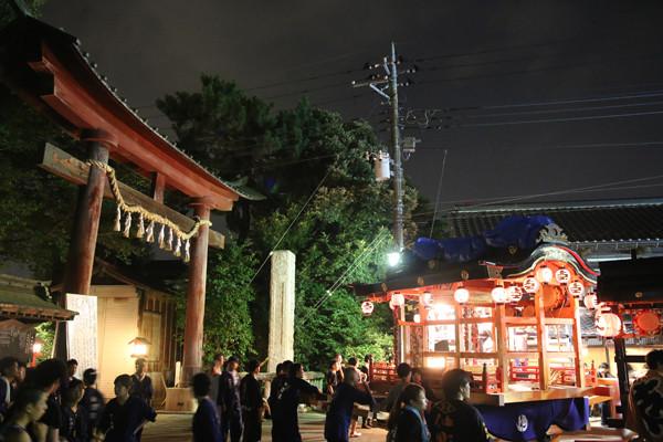 鷲宮八坂祭2015-一番太鼓02