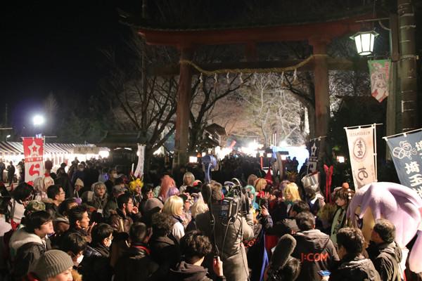 鷲宮神社初売り2017-6