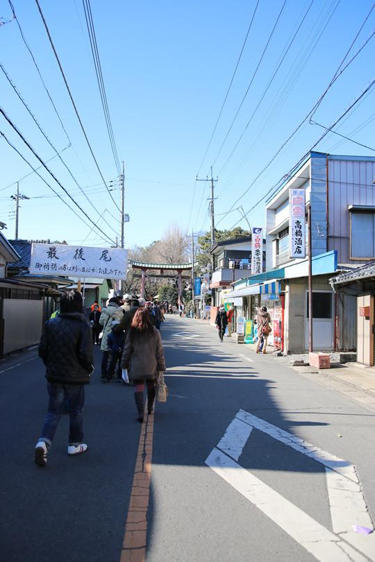 2014年1月2日の鷲宮神社初詣列2
