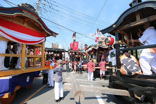 鷲宮八坂祭天王様2015-10